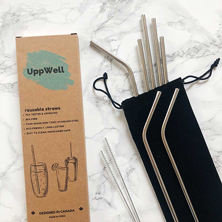Reusable Straws by UppWell