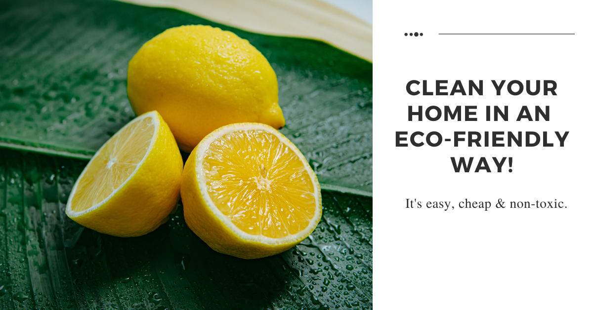 Ditch the Synthetic Cleaners and Go Green With These Natural Cleaning Products