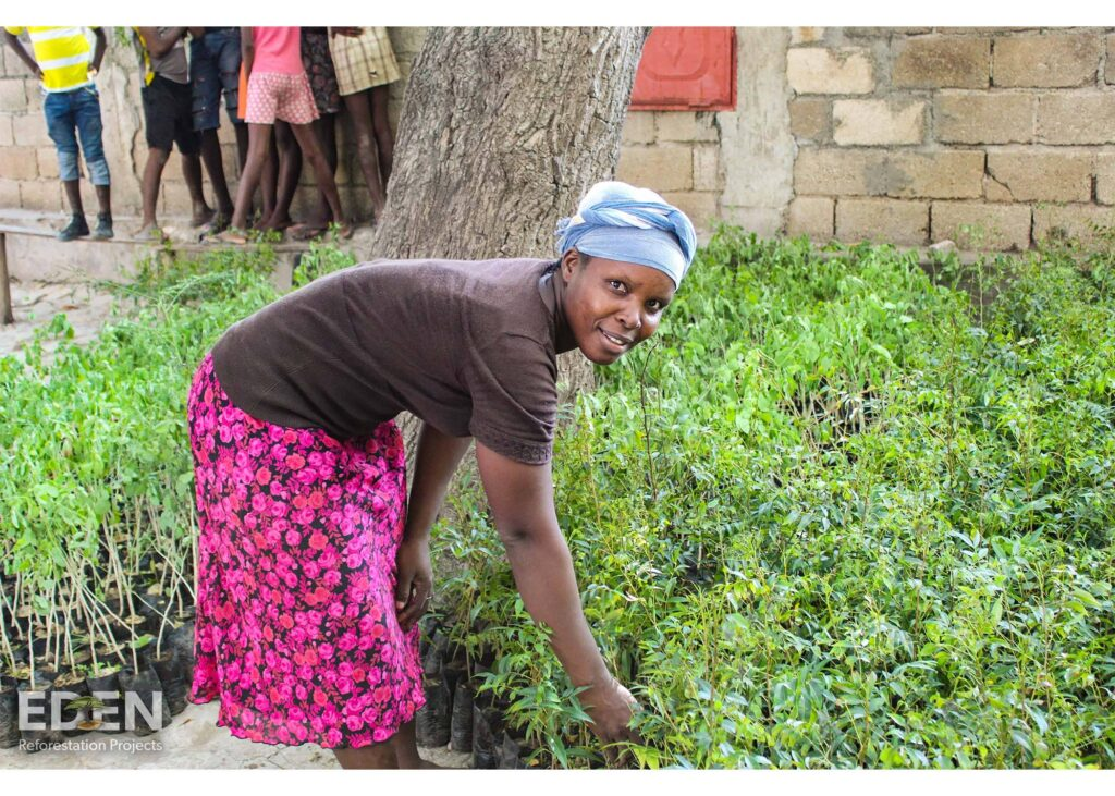 Eden Reforestation empowers villagers with their 'employ to plant' methodology