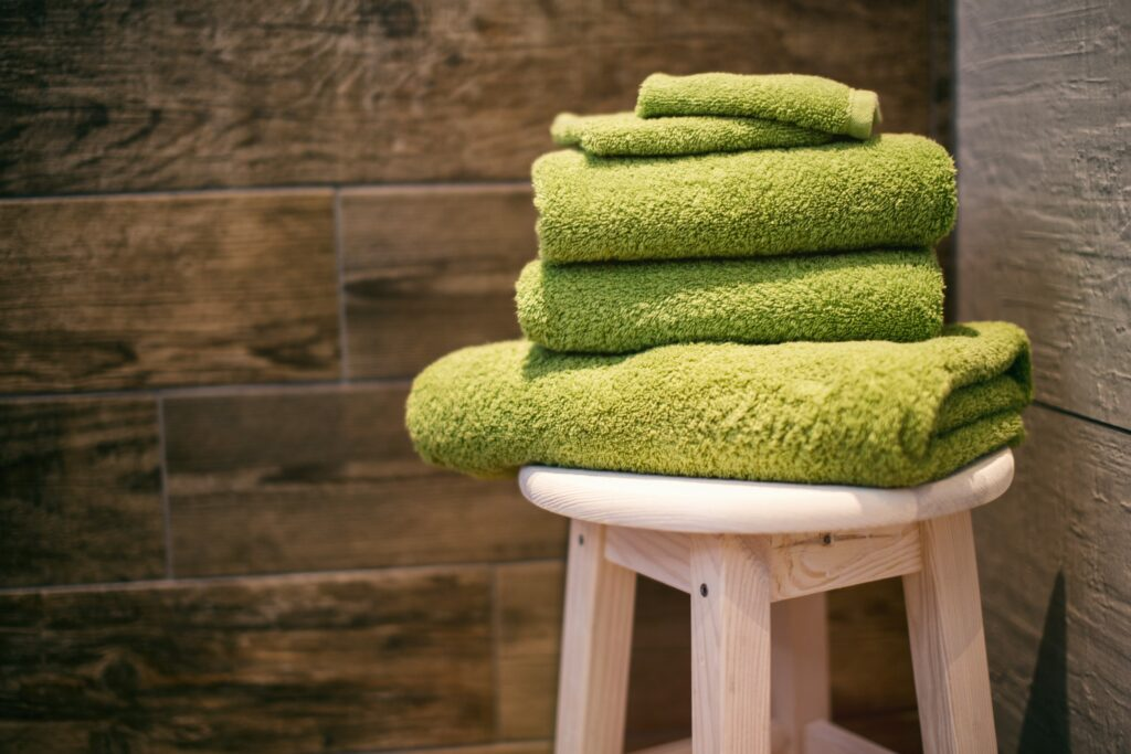 Towels as a substitute for tissue papers and disposable kitchen towel rolls