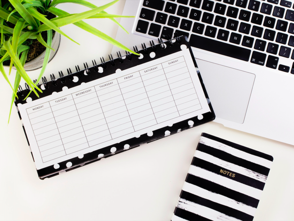 Stick to a schedule and plan ahead when working from home