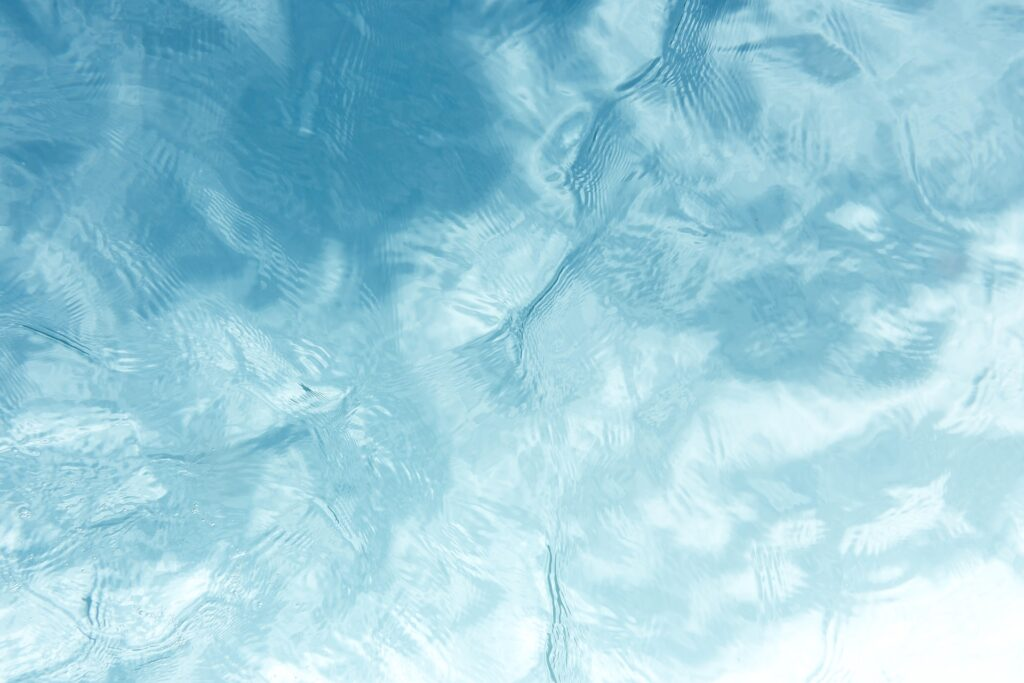 Water with rippling waves